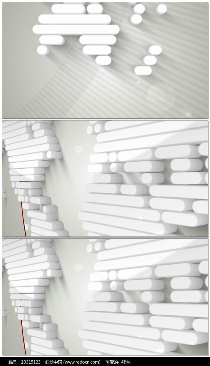 新闻栏目包装片头视频模板图片