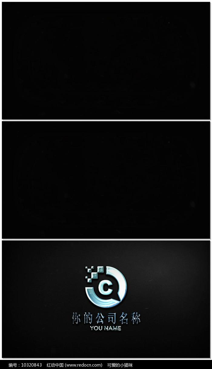 简洁LOGO演绎AE视频模板