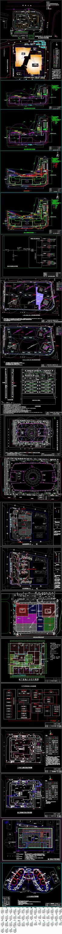 建筑工程施工现场平面布置图集锦25个项目