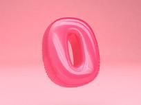 周年庆气球数字漂浮元素