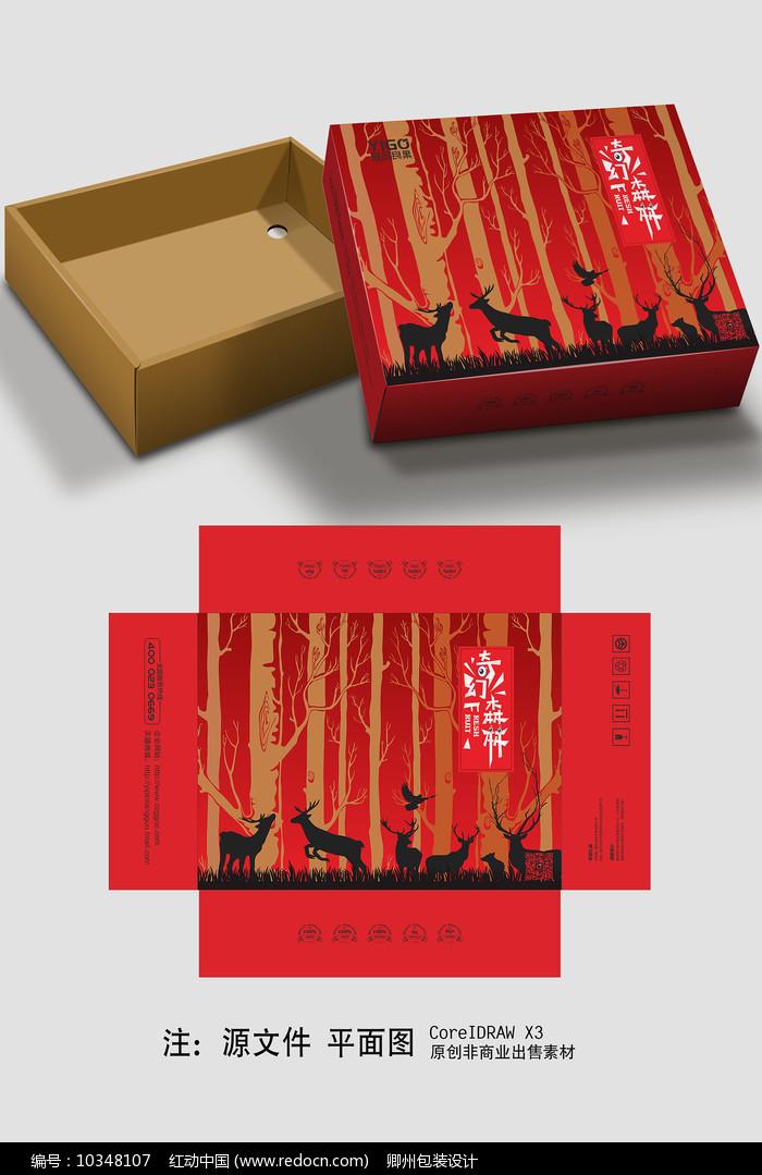 卡通食品包装设计图片