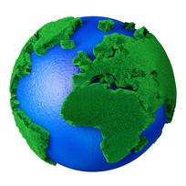 绿色环保保护地球元素