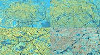 成都城市3d模型 建筑规划鸟瞰