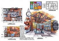 工业风格工作室设计