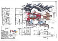 工业风格客厅室内设计
