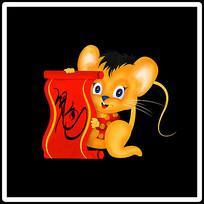2020手绘鼠年卡通形象