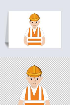 安全生产人物元素
