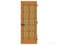 木质风室内门模型