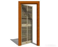 木质室内门模型