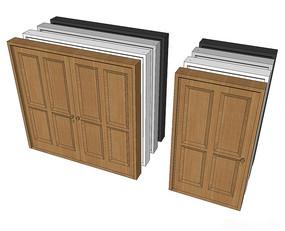 室内组合门模型