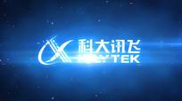 科技logo演绎视频模板