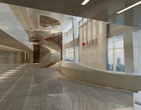 现代集团大厅3D模型