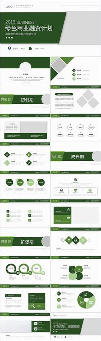 绿色项目发展商业策划融资计划书ppt
