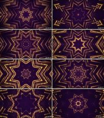 粒子汇聚颁奖LED大屏幕背景视频素材