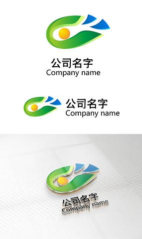 C形状企业LOGO设计