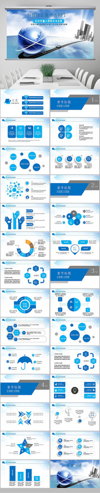 智能科技商业计划书互联网PPT