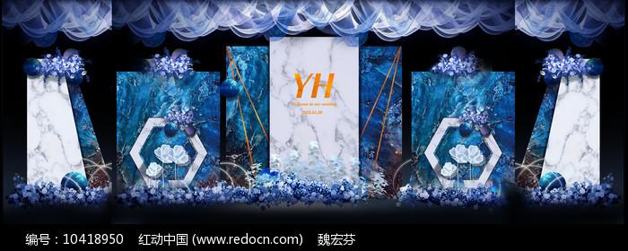 高端主题婚礼背景板图片