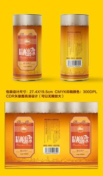 精酿原浆啤酒瓶贴系列包装