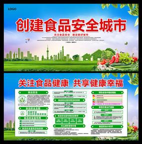 绿色食品安全周宣传展板