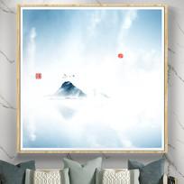 现代山水画装饰画