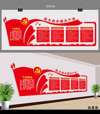 党建制度文化墙