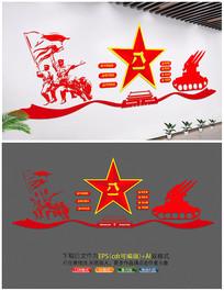八一建军节文化墙