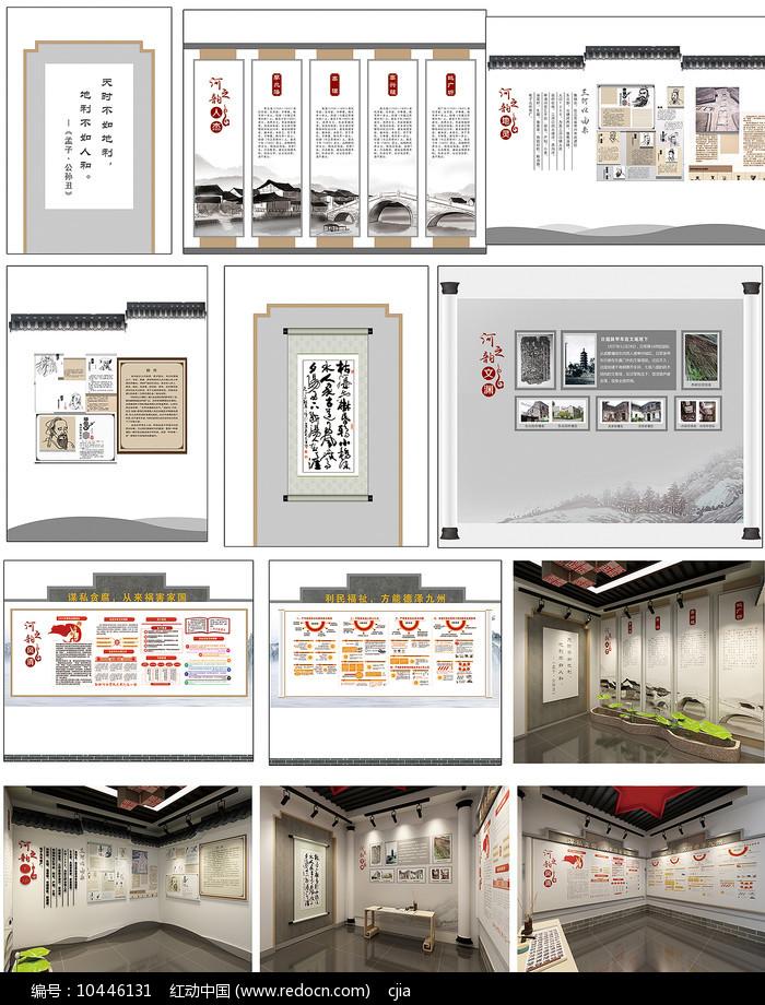 社区文化展厅设计图片