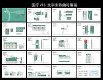 医院VI导视标识设计