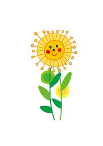 卡通向日葵