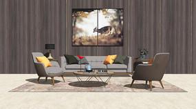 現代輕奢客廳沙發