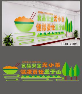 创意食品安全文化墙设计