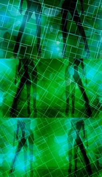 歌曲成人礼舞台背景视频素材