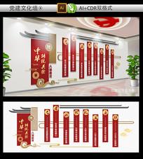 中华传统美德八德教育文化墙