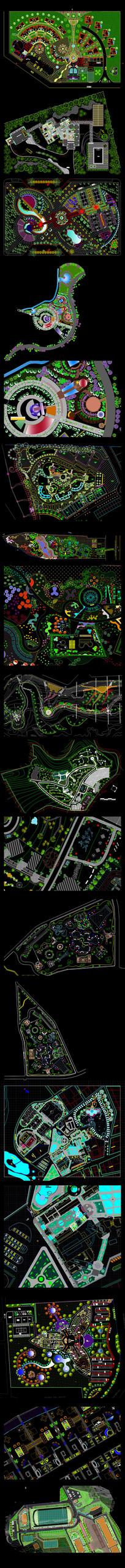 风景度假区CAD图纸(之一)