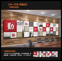 校园文化长廊宣传文化墙