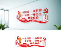 党员党建党支部文化墙