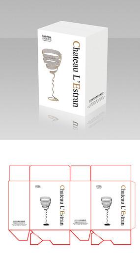 簡約紅酒包裝箱