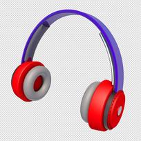 3D音乐耳机
