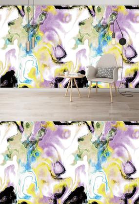 大理石纹理电视背景墙