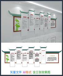 入党誓词文化墙设计模板