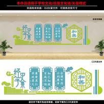 学校班级文化墙设计
