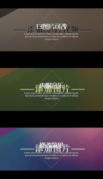 优雅简洁设计公司介绍商务幻灯片pr视频模板