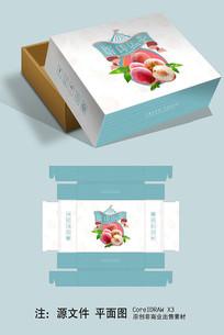 简约大气水蜜桃包装礼盒