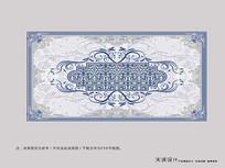 欧式高雅地毯图案设计