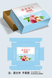 清爽桃子包装礼盒设计