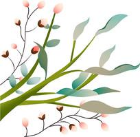 原创元素-树枝