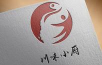 川味小厨标志设计