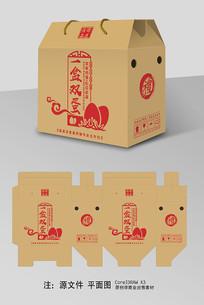 鸡蛋牛皮纸包装礼盒