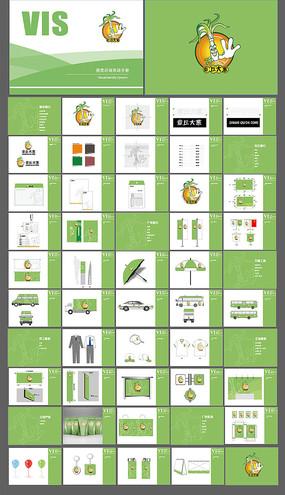 零食企業vi手冊視覺識別系統