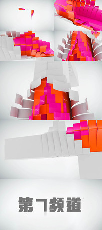 logo演绎动态视频模板